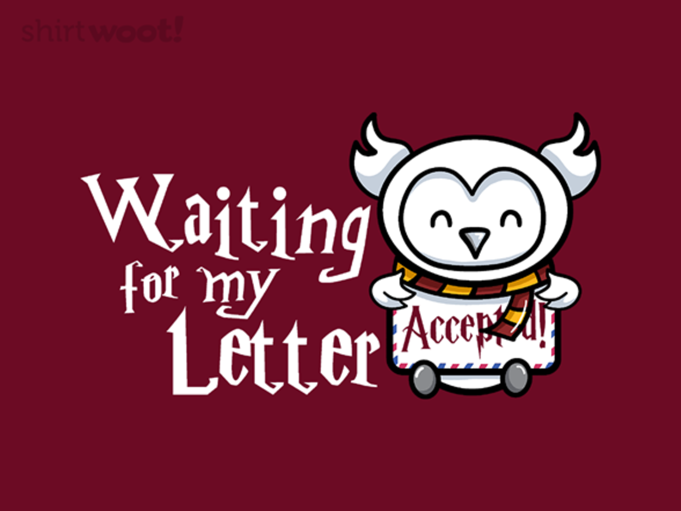 Woot!: Accepted - $15.00 + Free shipping