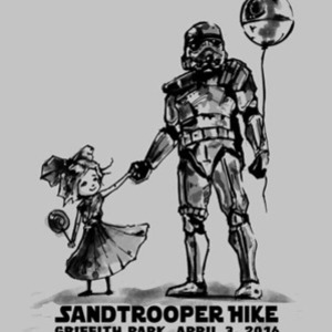 Tee No Evil: Sandtrooper Hike - Hip Hop Trooper