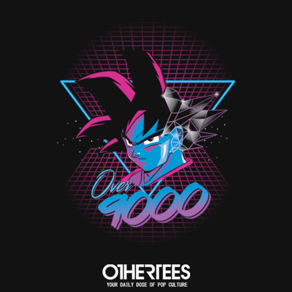 OtherTees: Over 9000 80's