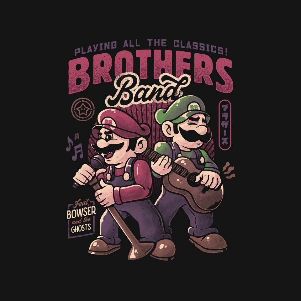 TeeFury: Brothers Band