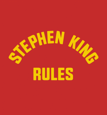 BustedTees: Stephen King Rules