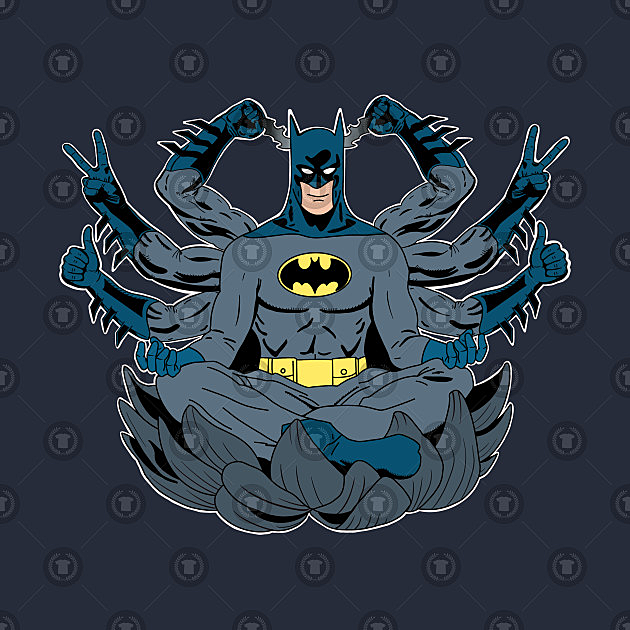 TeePublic: The Meditating Bat