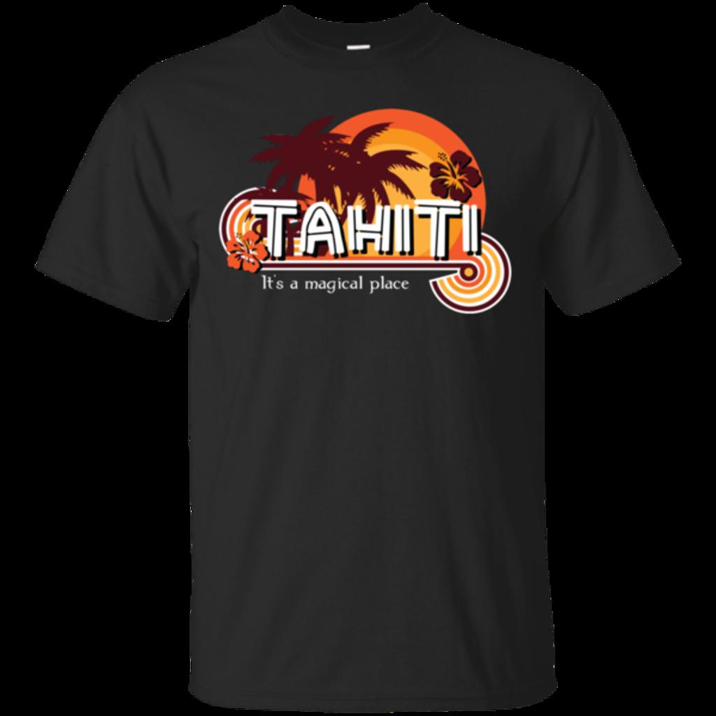 Pop-Up Tee: Tahiti Pillow