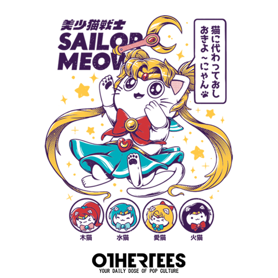 OtherTees: Sailor Meow