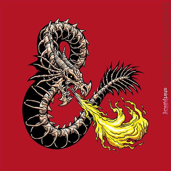 ShirtPunch: Bone Dragon