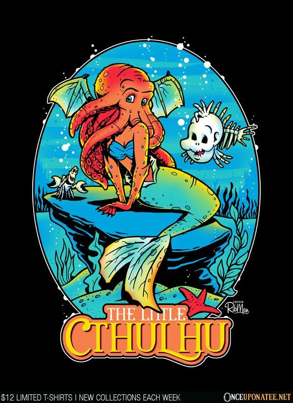 Once Upon a Tee: The Little Cthulhu