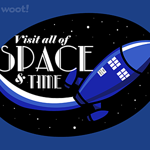 Woot!: Retro Tardis