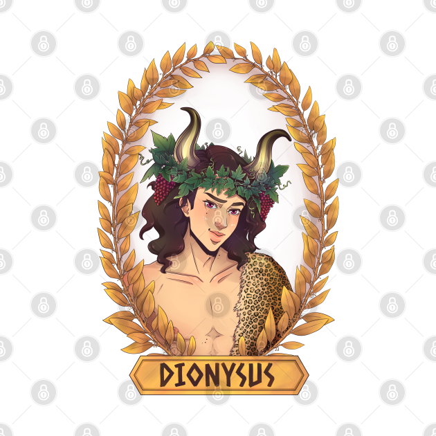 TeePublic: Dionysus Olympian God Greek Mythology