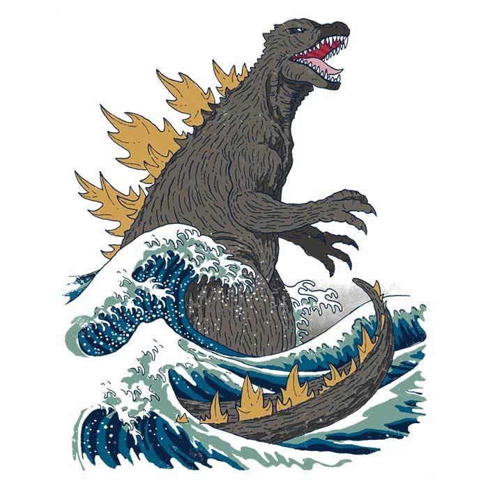 Once Upon a Tee: Great Monster Off Kanagawa