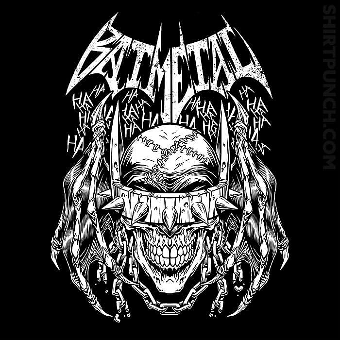 ShirtPunch: Batmetal