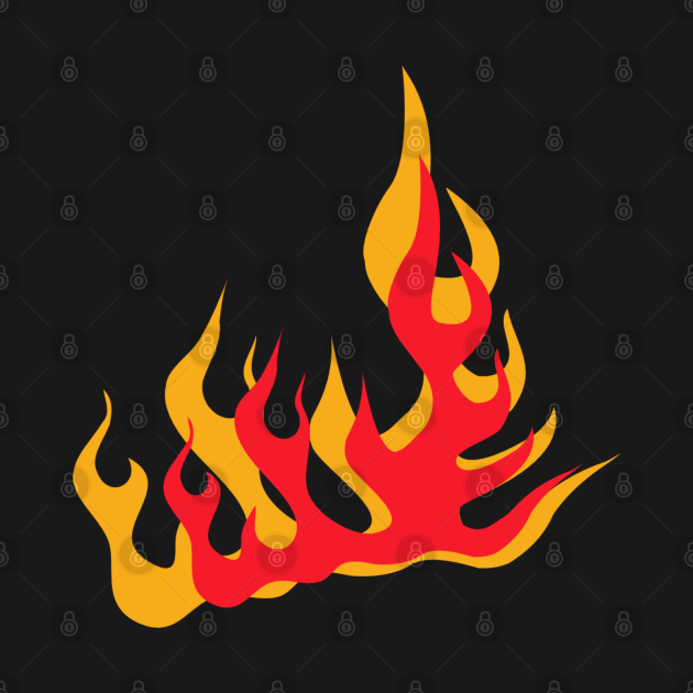 TeePublic: Hot coal fire