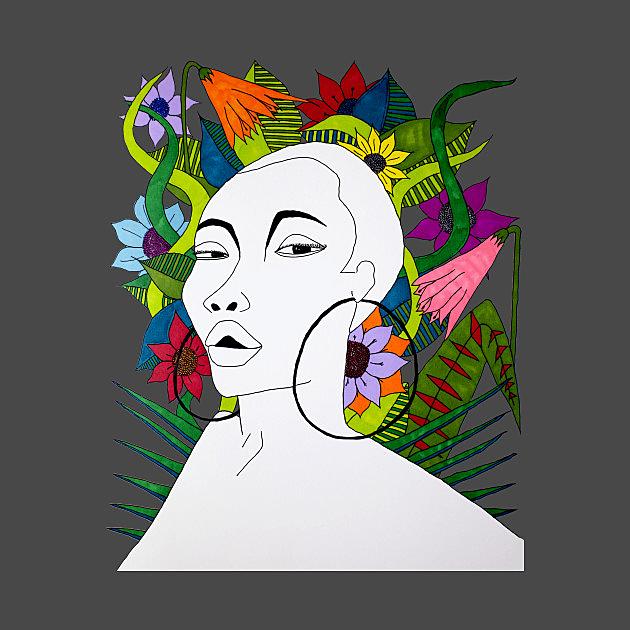 TeePublic: Black Mother Nature