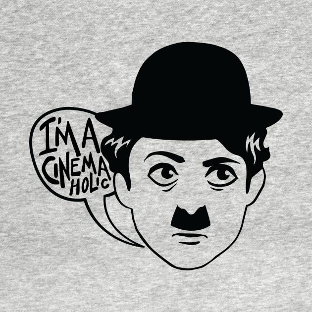 TeePublic: I'm a Cinemaholic (Black)