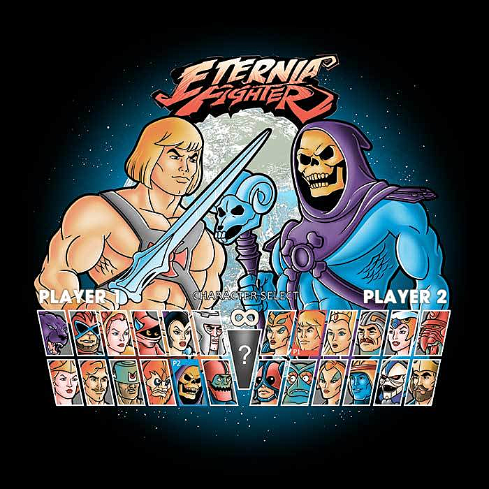 Once Upon a Tee: Eternia Fighters