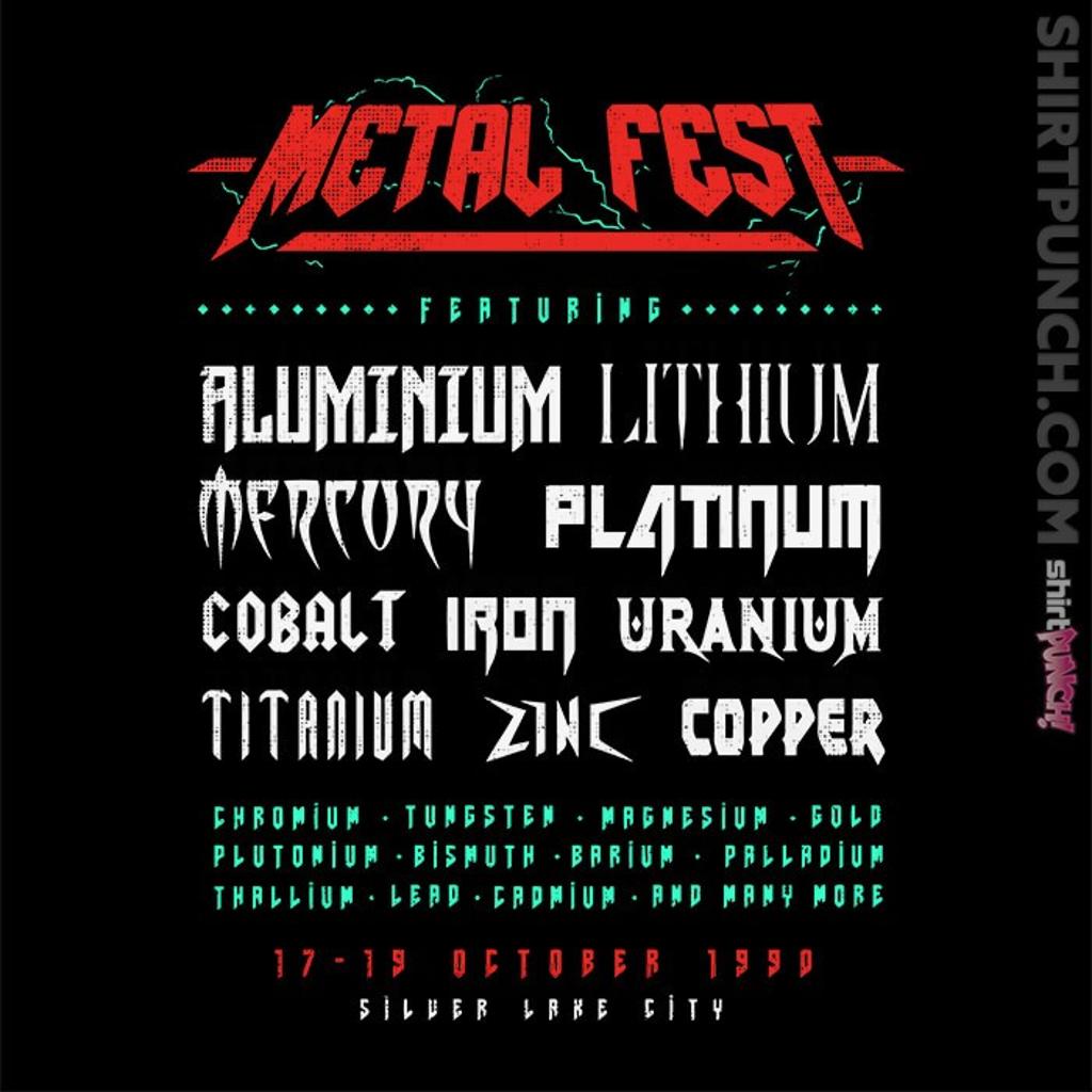 ShirtPunch: Metal Fest