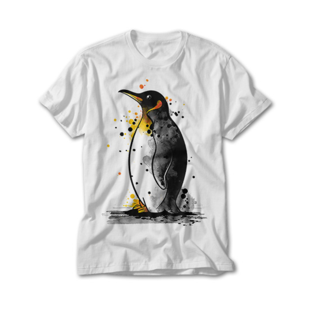 OtherTees: Penguin watercolor