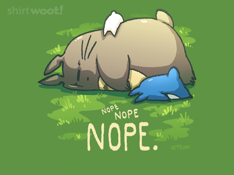 Woot!: Toto-nope