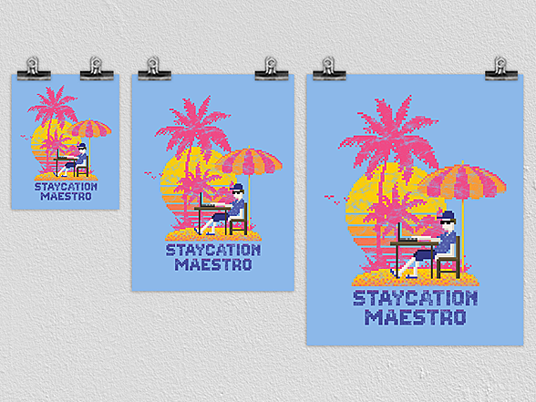 Woot!: Staycation Maestro Poster