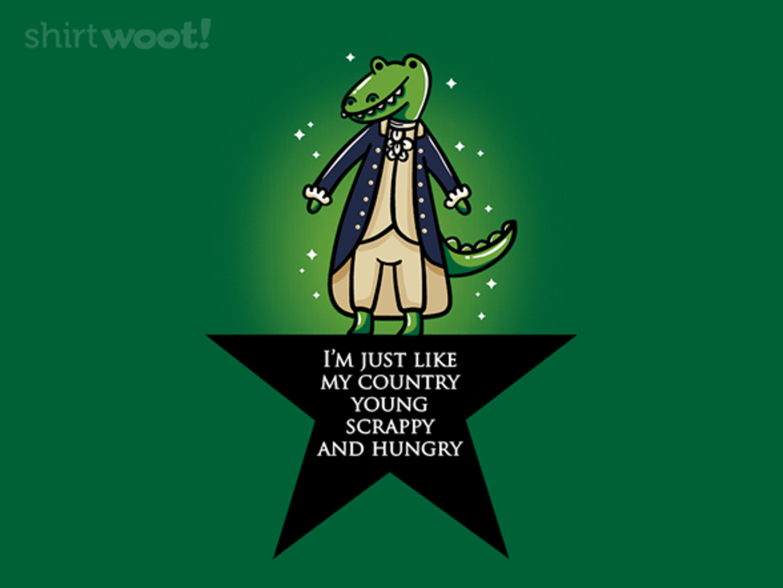 Woot!: Alligator Hamilton - $15.00 + Free shipping