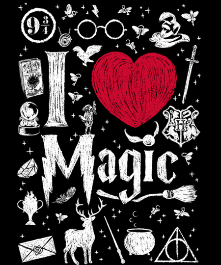 Qwertee: I love Magic