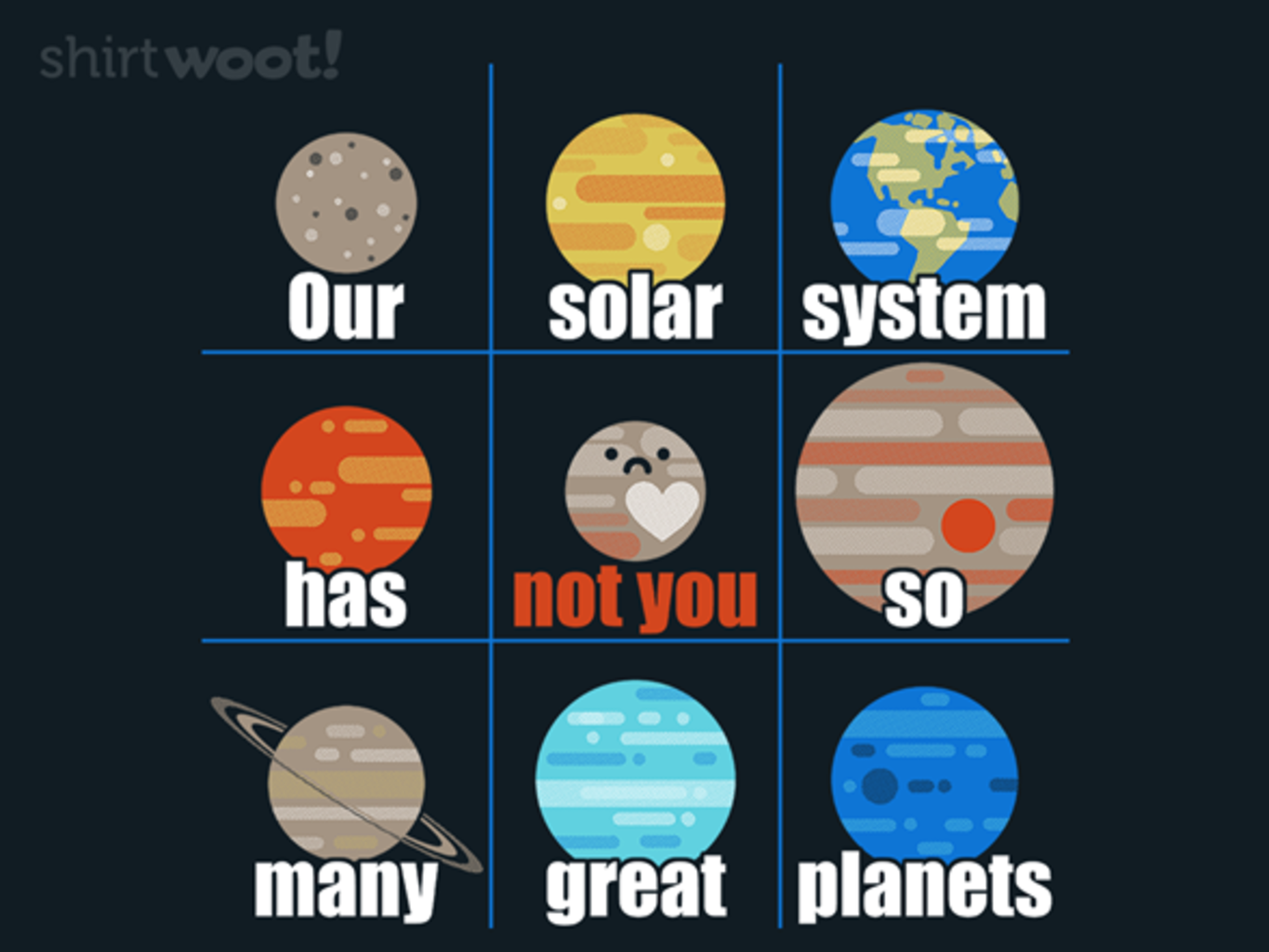 Woot!: Not You, Pluto