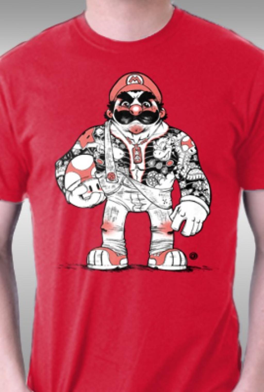 TeeFury: Yakoopa Mario