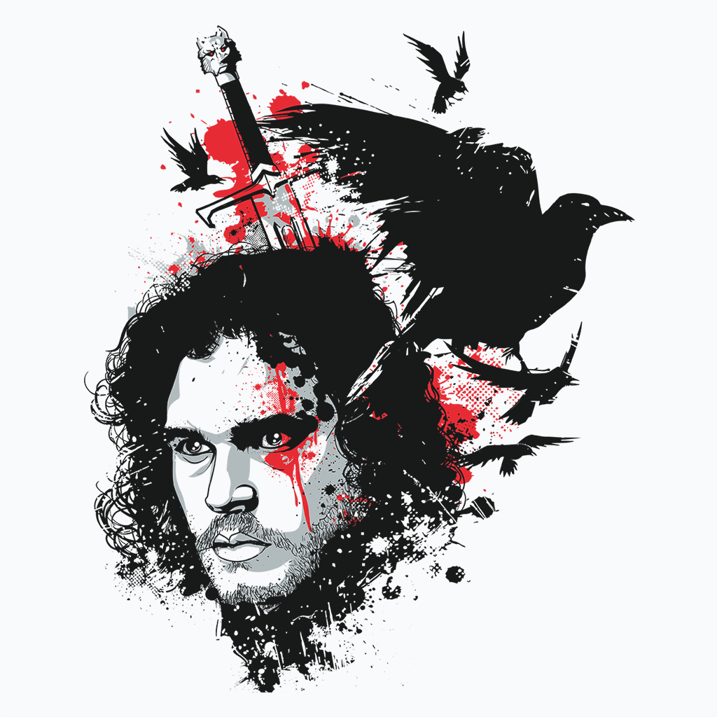 Pop-Up Tee: King in The North