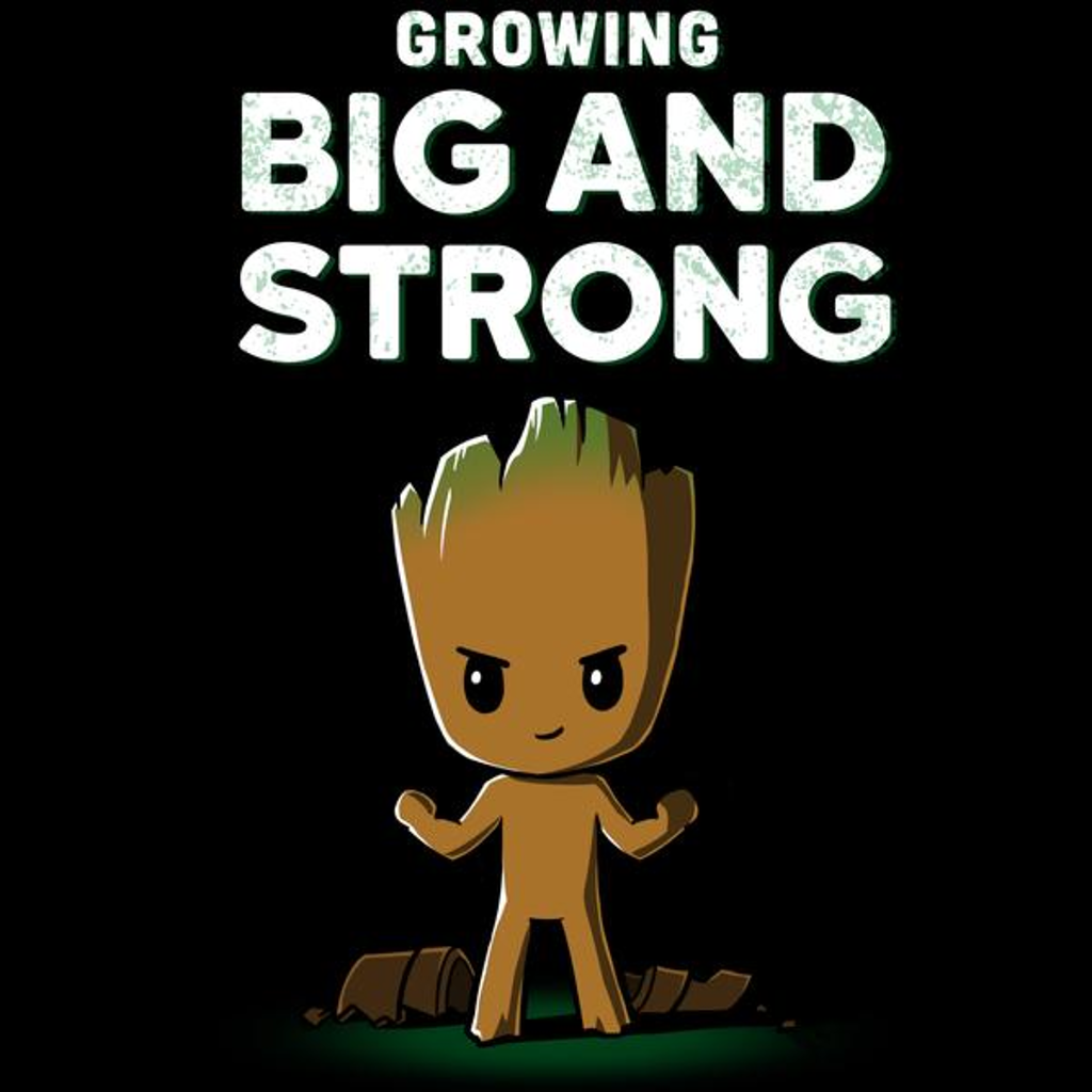 TeeTurtle: Big and Strong