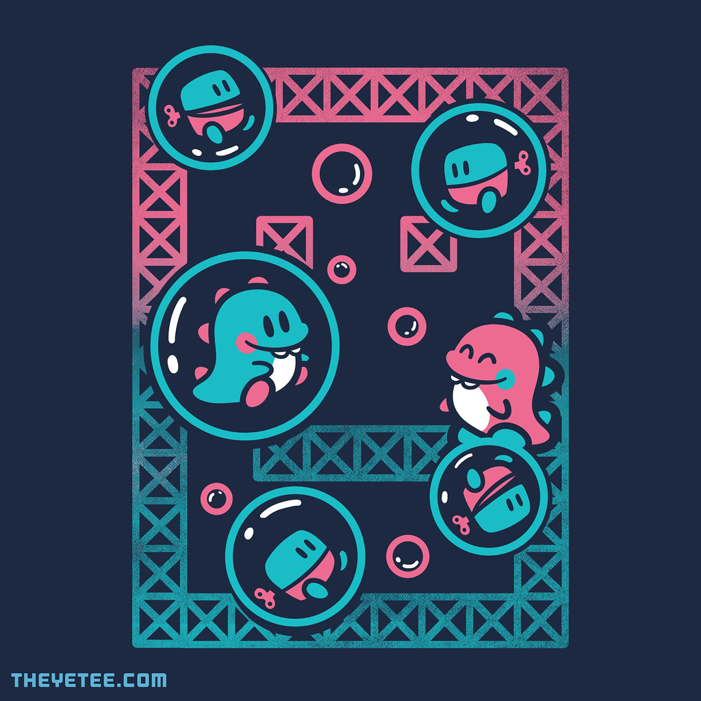 The Yetee: Arcade Bubbles