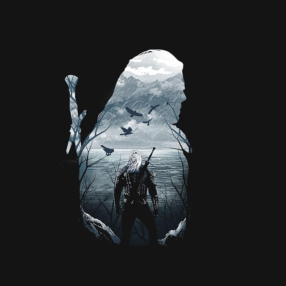 TeeFury: Wild Hunt Silhouette