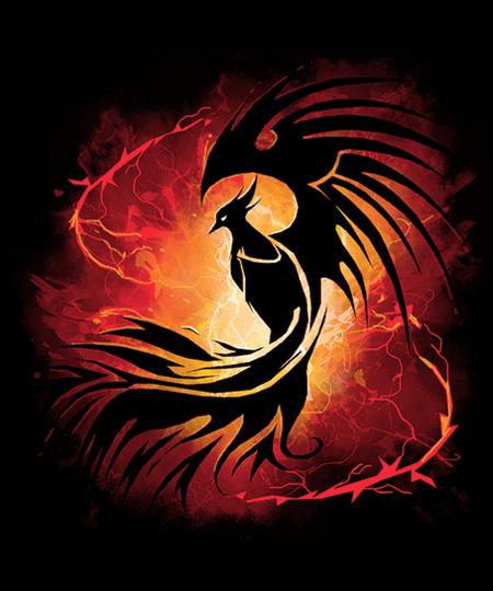 Qwertee: Phoenix