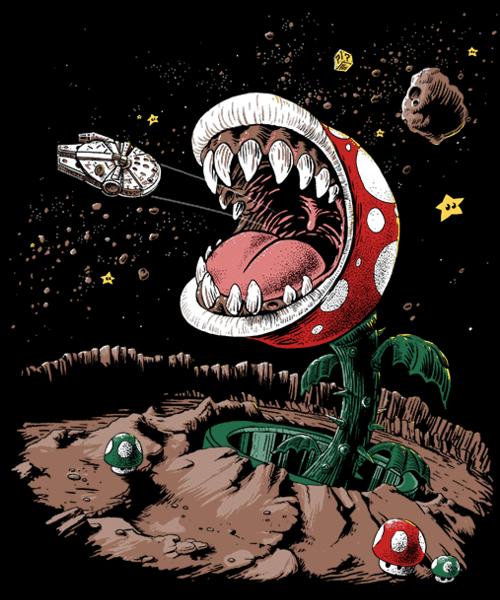 Qwertee: The Plumber Strikes Back