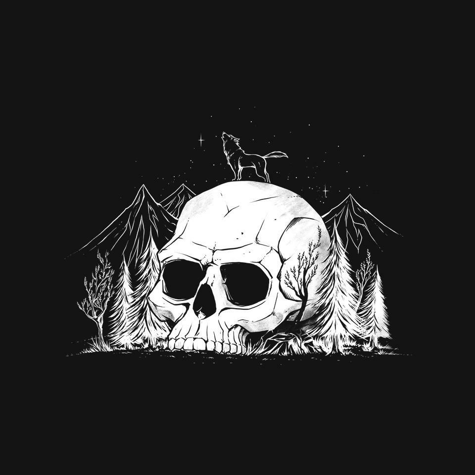 TeeFury: Skull Forest
