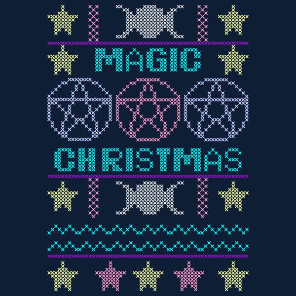 NeatoShop: Ugly sweater Magic Christmas