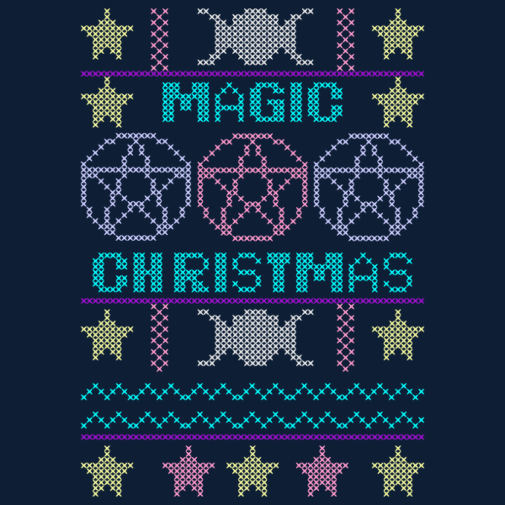 NeatoShop: Ugly sweater Magic Christmas