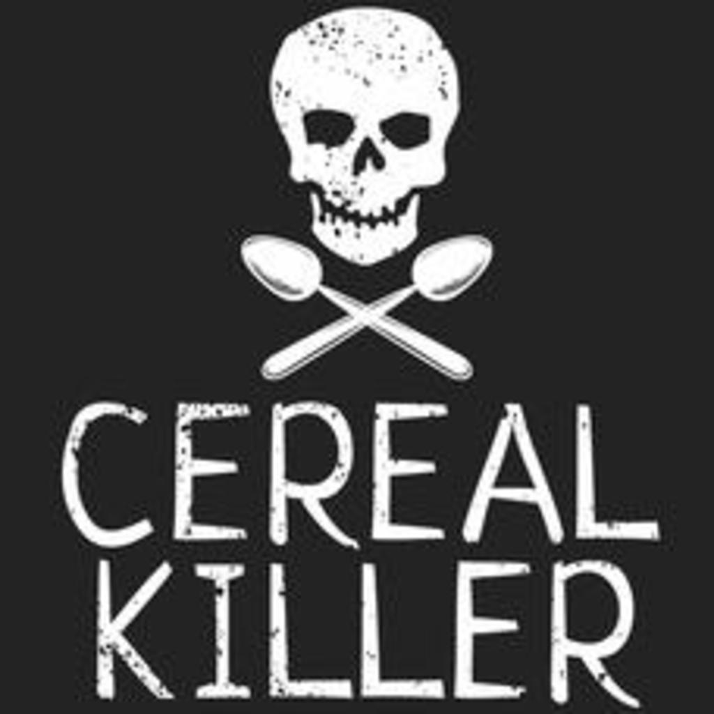 Textual Tees: Cereal Killer T-Shirt