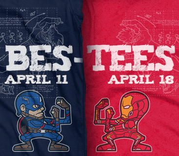 TeeFury: Bes-Tees Collection