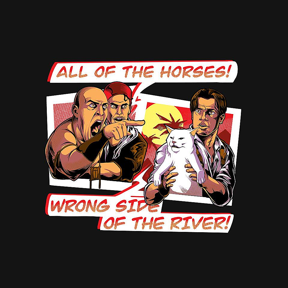 TeeFury: Wrong Side Of the River