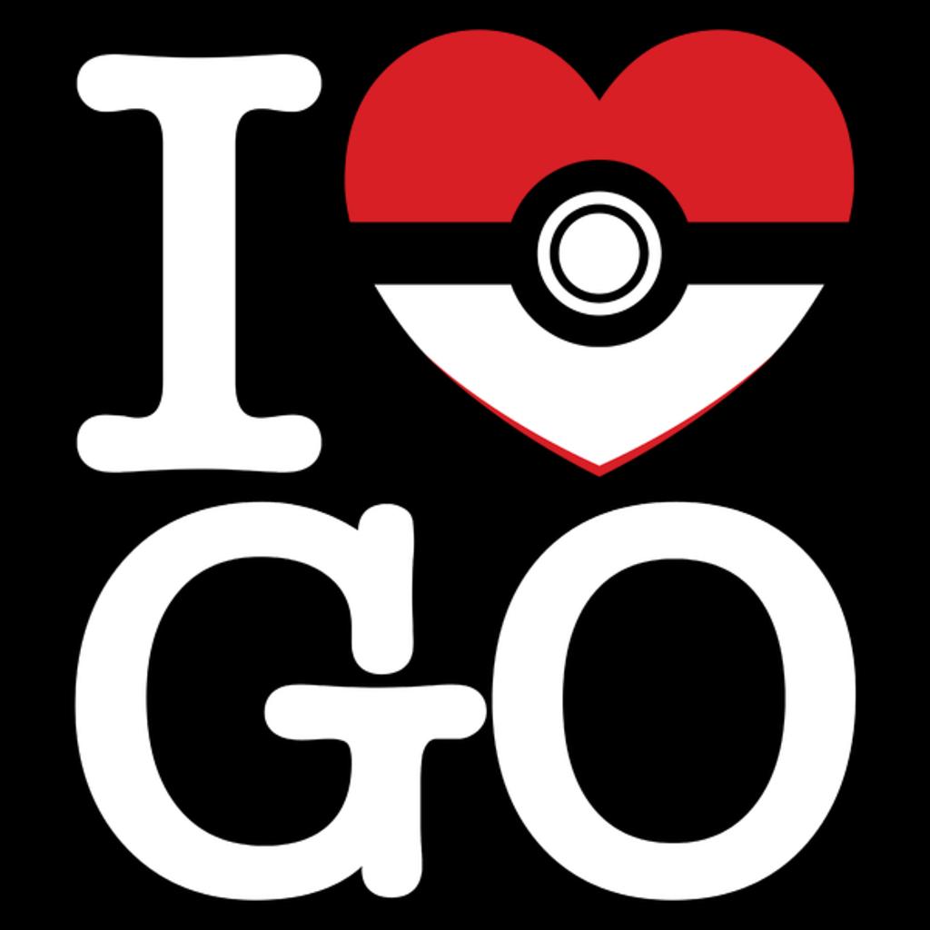 NeatoShop: I HEART GO (DARK CLOTHING)