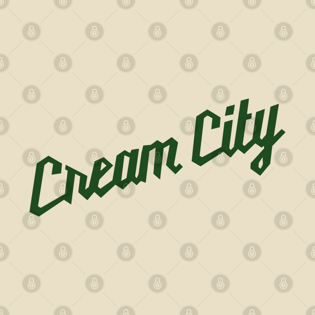 TeePublic: Cream City // Milwaukee Wisconsin Sports Throwback