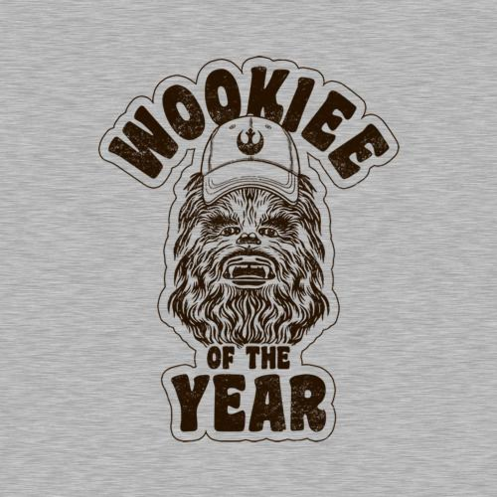 Five Finger Tees: Wookiee Of The Year T-Shirt