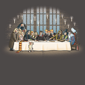 Qwertee: Magic dinner