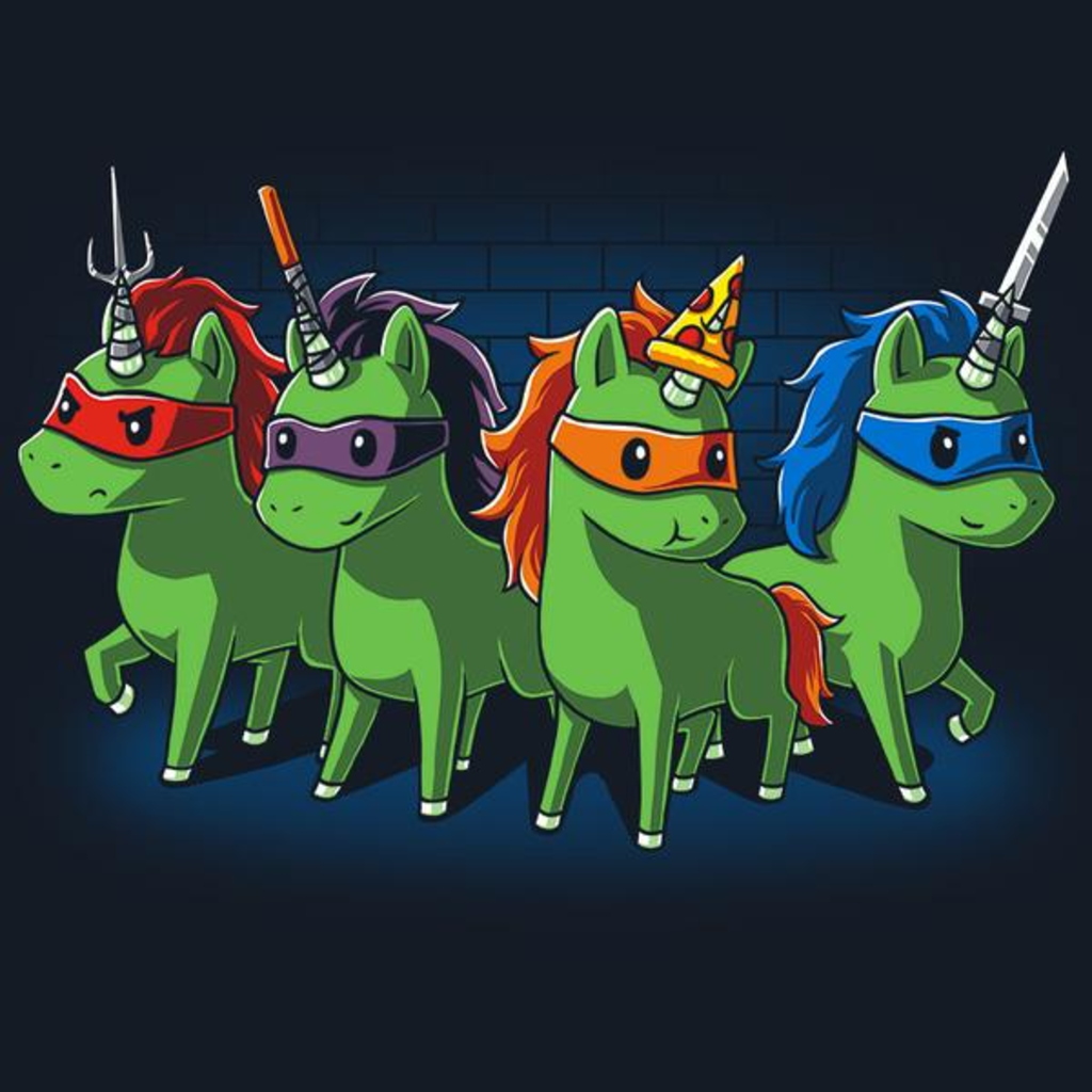 TeeTurtle: Sewer Unicorns