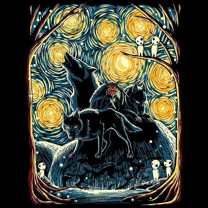 Once Upon a Tee: Starry Forest