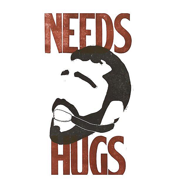 RedBubble: Fetish Bearded Slave Needs Hugs