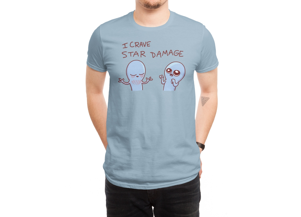 Threadless: Strange Planet: I Crave Star Damage