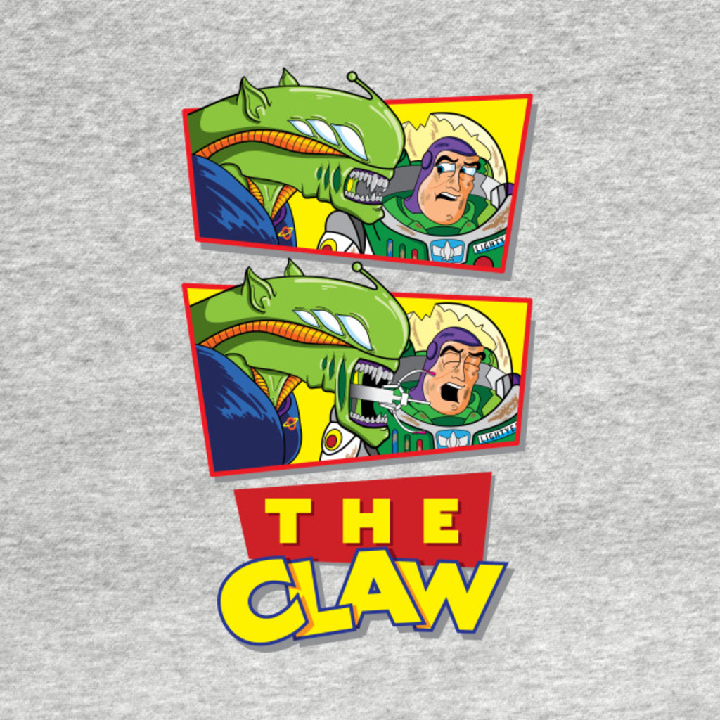 TeePublic: The Claw