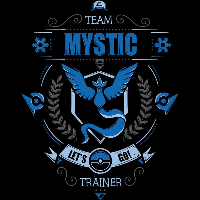 We Heart Geeks: Team Mystic - Men's T-Shirt