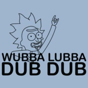Textual Tees: Wubba Lubba Dub Dub