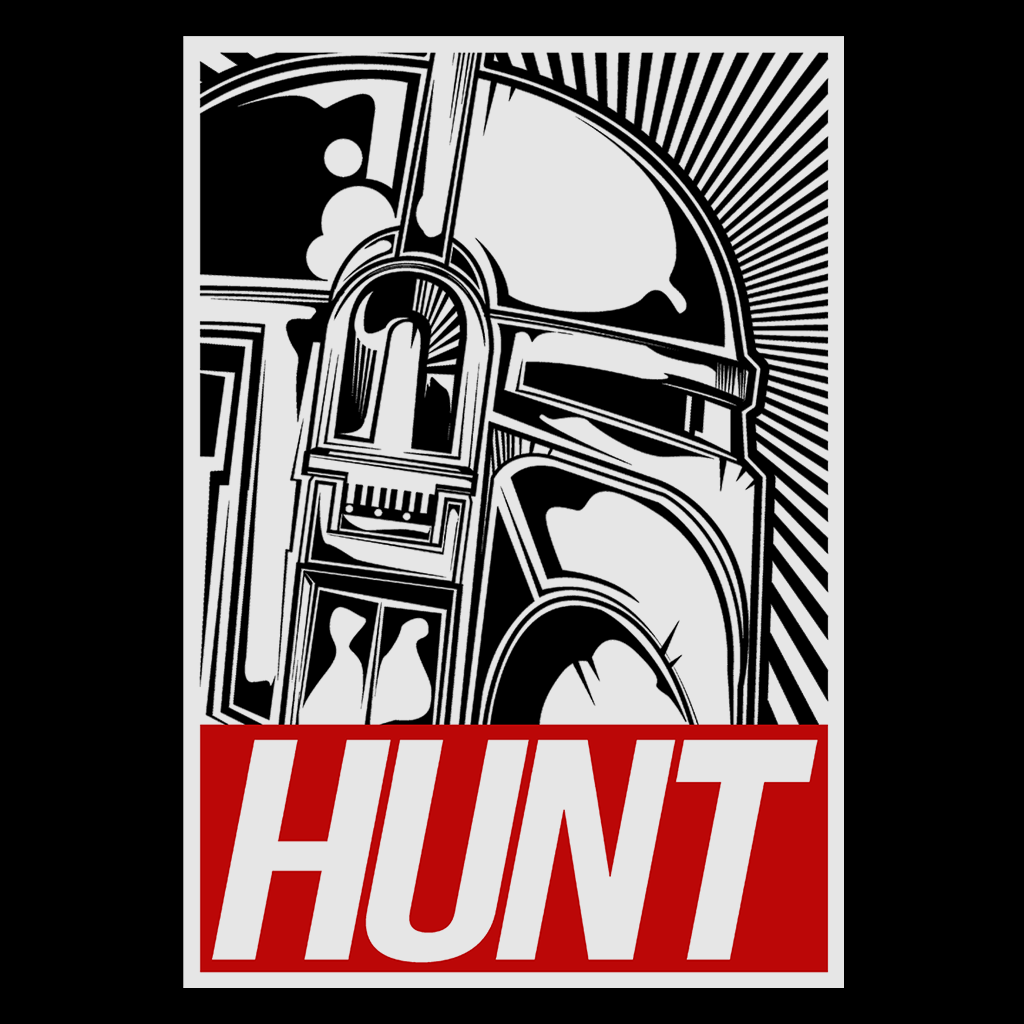 Pop-Up Tee: Hunt - Obey